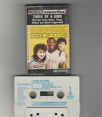 £3.95 • Buy Three Of A Kind-tracey Ullman/lenny Henry/david Copperfield-bbc Cassette 1983/ex