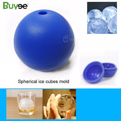 3D Mould Round Cocktails Ball Star Wars Death Star Silicone Mold Ice Cube Tray • 5.99£