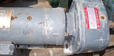 $450 • Buy Dayton Reducer # A2719a , With A Ge 1 Hp Motor