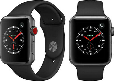 $ CDN303.69 • Buy Apple Watch Series 3 42mm GPS + Cellular - Space Gray
