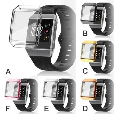 $ CDN7.85 • Buy Watch Screen Protector For Fitbit Ionic TPU Rugged Smartwatch Protective Case