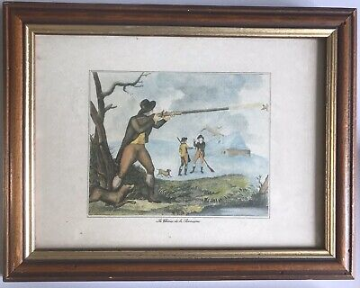La Chasse De La Becassine Samuel Howitt Early 19th Century Bird Hunting Print • 25£