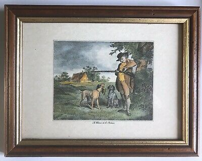 La Chasse De La Perdrix Samuel Howitt Early 19th Century Bird Hunting Print • 25£