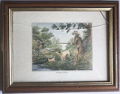 La Chasse Du Faisan Samuel Howitt Early 19th Century Bird Hunting Print • 25£