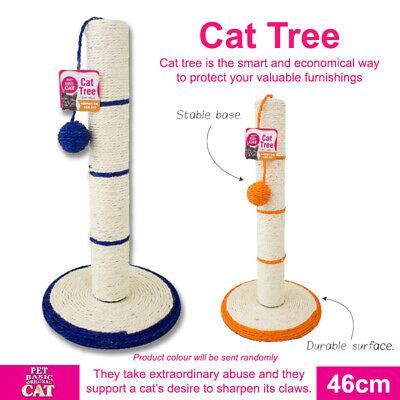AU31.82 • Buy Cat Tree Scratching Post Scratcher Pole Gym Toy House Furniture