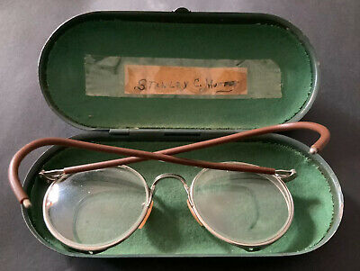 $29.99 • Buy Vintage Motorcycle Steampunk Bausch Lomb Ful-Vue Safety Eye Goggles Glasses Case