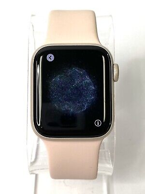 $ CDN300.24 • Buy Apple Watch Series 4 40 Mm Gold Case With Pink Sand Band GPS + Cellular