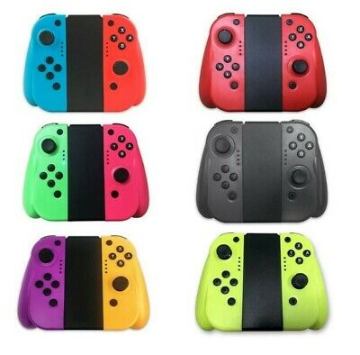$38.99 • Buy For Nintendo Switch Joy-Con (L/R) Bluetooth Wireless Controller Set With Grip