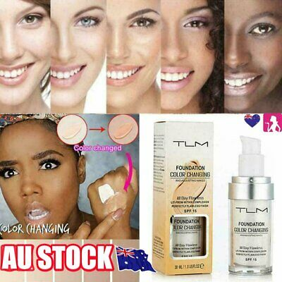 AU11.51 • Buy Magic Flawless Color Changing Foundation TLM Makeup Change To Your Skin Tone KC