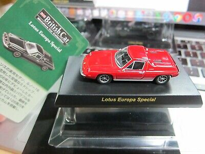 $ CDN8.61 • Buy Kyosho - British MiniCar Collection - Lotus Europa Special Red - 1/64 - Mini Car