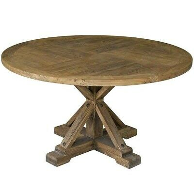 AU399 • Buy Reclaimed Wood Round Dining Table