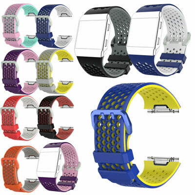 AU10.23 • Buy Breathable Sports Strap Replacement Band Wristband For Fitbit Ionic  Large/Small