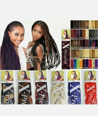 X-Pression Ultra Braid Kanekalon Xpression Twist Hair Extension All Colour • 4.90£