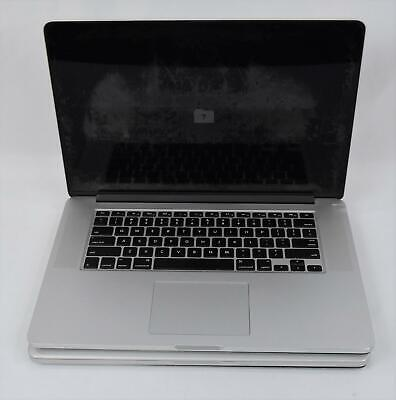 $ CDN353.55 • Buy Lot Of (2) Apple MacBook Pro I7 Laptops For Parts Or Repair Only A1398
