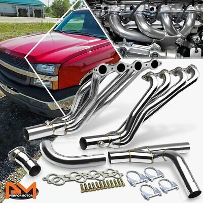 $216.89 • Buy For 02-06 Chevy GMT800 4.8/5.3/6.0 V8 Stainless Steel 8-2 Exhaust Header+Y-Pipe
