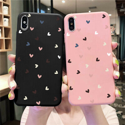 $2.96 • Buy Lovers Soft Phone Cases For IPhone 11 X XR Samsung A40 Huawei Xiaomi Redmi Case