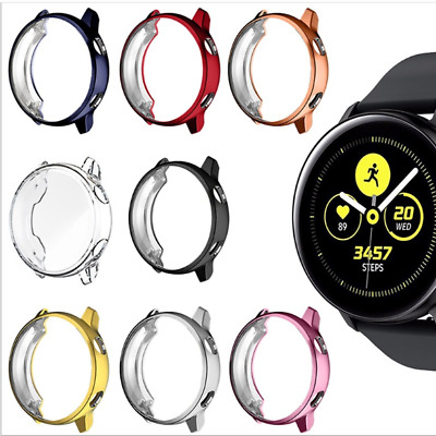 AU8.99 • Buy Screen Cover Full Watch Soft Case For Samsung Galaxy Watch Active 2 40mm 44mm