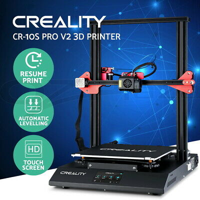 AU799.95 • Buy Creality CR-10S Pro V2 3D Printer Auto Levelling High Precision 300*300*400mm