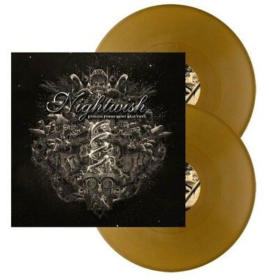 Nightwish Endless Forms Most Beautiful Gold Vinyl 300 Copies  New & Sealed • 34.99£