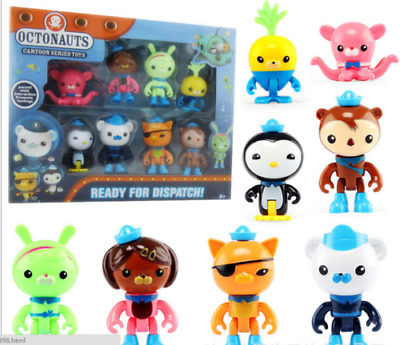 £10.99 • Buy 8PC Octonauts Expedition Action Figure Kid Childrens Toy Doll Gift Collection