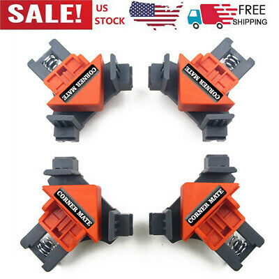$15.49 • Buy 90 Degrees Right Angle Clamp Clip Quick Fixing Picture Frame Corner Clamps A1M2
