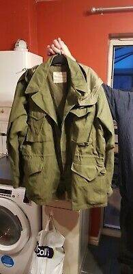 $110.45 • Buy WW2 Reproduction M43 Jacket With Original Hood