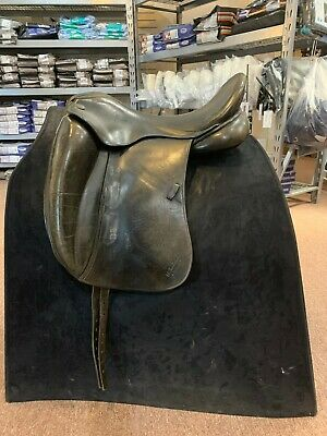 $900 • Buy Used M Toulouse Marianne Platinum Dressage - 18/Wide - Black