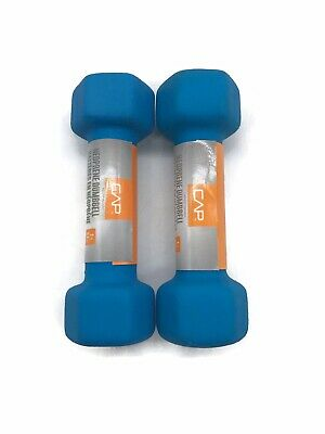 $ CDN40.92 • Buy New Cap 2lb Weight Training Neoprene Coated Hex Dumbbells (Pair)