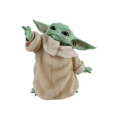 $12.69 • Buy Star Wars Mandalorian Baby Yoda Action Figure Collection Model Kids Toy Gift