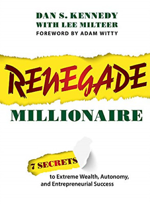 Kennedy Dan S-Renegade Millionaire BOOK NEW • 13.84£