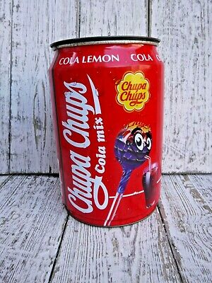 Large Vintage Advertising Chupa Chups Cola Mix Sweets Tin Storage Tin • 9.99£