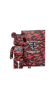 $450 • Buy Bearbrick X Faze Clan 100 & 400 Set Sold Out *CONFIRMED ORDER*