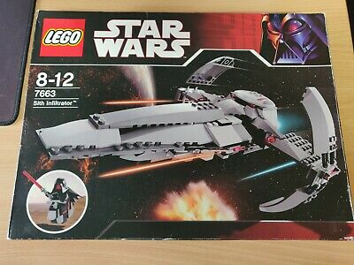 AU80 • Buy Lego 7663 Star Wars Sith Infiltrator Darth Maul - Complete - USED