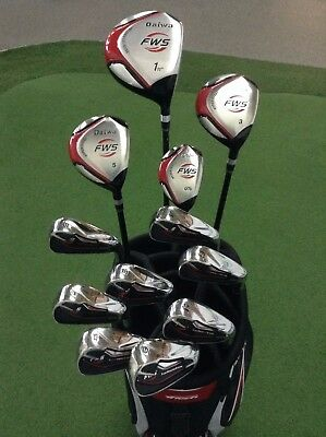 AU349.99 • Buy DAIWA FWS Premium Golf Set  - 2 Year Warranty - 7075 Titanium Driver -