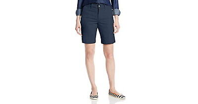 $19.99 • Buy Not Your Daughters Jeans NYDJ Tummy Tuck Commander Blue Shorts Size 4P