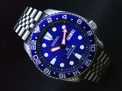 $ CDN44.23 • Buy SEIKO 7S26-0020 Automatic Divers Mens Watch Modded Blue