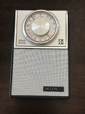$105 • Buy Vintage Sony Transistor Radio Model 2F-23W. Mid 60's. Very Good Condition. WORKS
