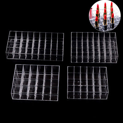 24/36/40 Lipstick Holder Display Stand Cosmetic Organizer Makeup Case Acrylic HR • 7.43£