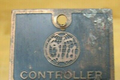 $24.99 • Buy Otis Controller Old Elevator Co Advertising Embossed Metal Nameplate Sign *a2ps