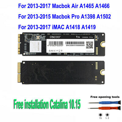 NEW 11  &13  MacBook Air A1465 A1466 1TB PCIe SSD Drive State 2013 2014 2015 • 139.80£