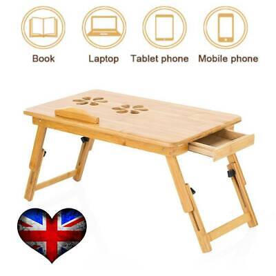 Bamboo Portable Folding Bed Lap Desk Laptop PC Notebook Table Bed Sofa Tray • 14.99£
