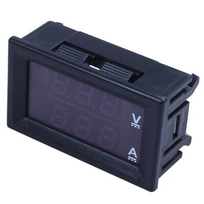 AU5.73 • Buy 1X(DC0-100V 10A LED DC Dual Display Digital Voltage Current Meter Head Wit K2J2