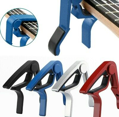 $ CDN5.32 • Buy Change Guitar Capo Clip String Instrument Clamp For Acoustic Electric Guitar