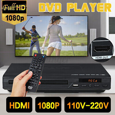 AU37.45 • Buy HDMI 15W LCD DVD Player Compact 6 Regions Video MP4 MP3 CD USB 3.0 W/ Remote