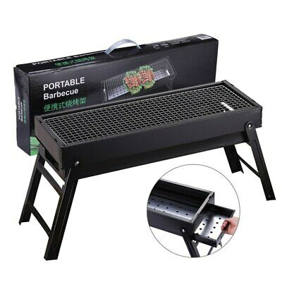 $ CDN170.86 • Buy Outdoor Foldable BBQ Charcoal Grill Portable Barbecue Camping Picnic Hibachi