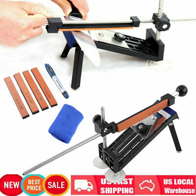 $27.70 • Buy Fix-angle Knife Sharpener Professional Sharpening System Kits W/4 Stones Home US