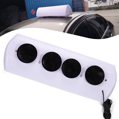 $45.82 • Buy 12V Strong Magnets LED Taxi Cab Sign Roof Light PP Topper Car Bright Light