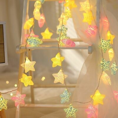 Fairy String Lights Night Lights Star LED Kids Bedroom Home Party Wedding Decor • 8.99£
