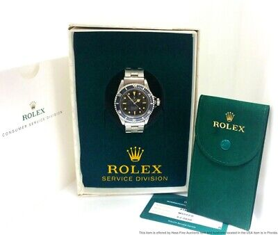 $ CDN169824.96 • Buy Extremely Rare Rolex 5512 Submariner Pointed Crown Guard Underline Tropical Dial