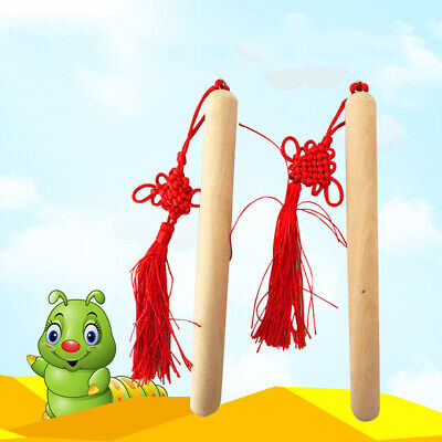Percussion Rhythm Sticks Children Kids Musical Educational Learning Toy Gifts HZ • 3.48£